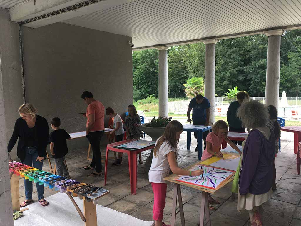 animation enfants camping audinac