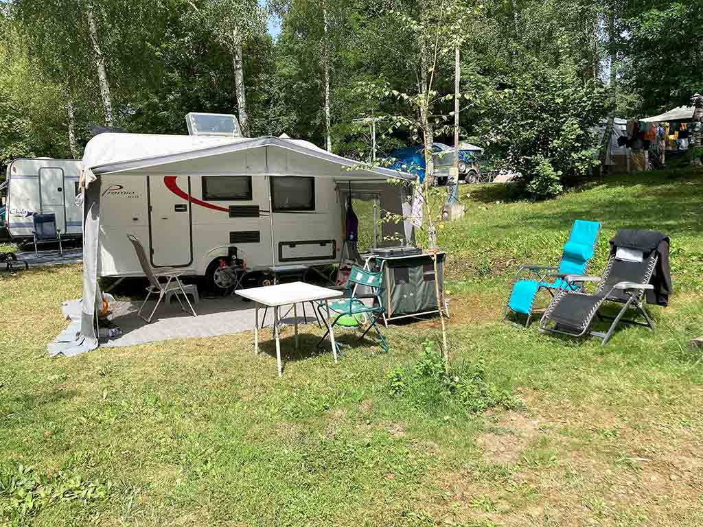 emplacement camping pour camping cars saint girons